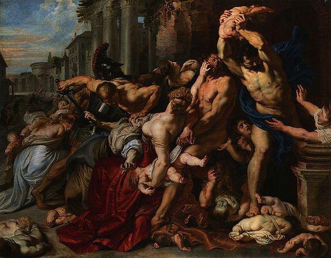 Rzeź niewiniątek według Rubensa