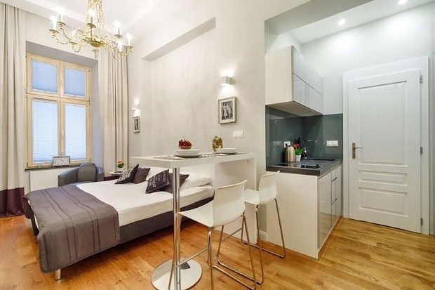 Apartament w wersji kompaktowej