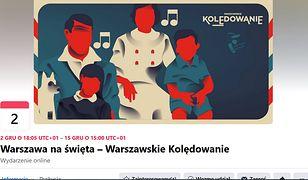 Warszawa zachęca do kolędowania. Plakat promujący wydarzenie budzi kontrowersje