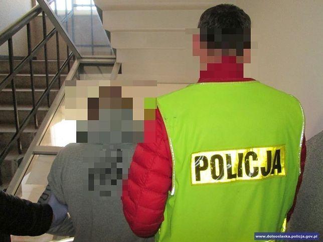 Dolny Śląsk. Zatrzymanie 28-letniego mężczyzny w Kłodzku