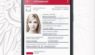 Screen z aplikacji mObywatel - udostępniony przez Ministerstwo Cyfryzacji na Google Play