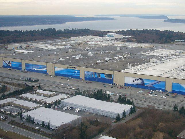 Boeing Everett Factory to największy budynek świata