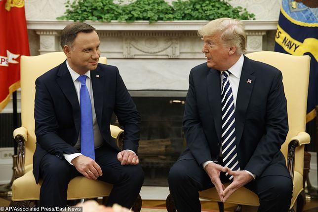 PAP: 12 czerwca Andrzej Duda spotka się z Donaldem Trumpem w Białym Domu