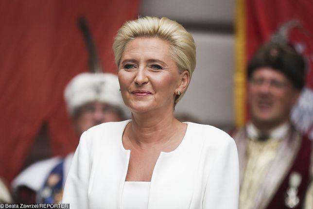Agata Duda do Pałacu Prezydenckiego nie zdołała się przekonać do dziś