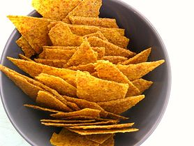 Chipsy kukurydziane bez dodatku soli