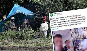 Migranci z Usnarza zwiedzali Mińsk? Straż Graniczna publikuje zdjęcia
