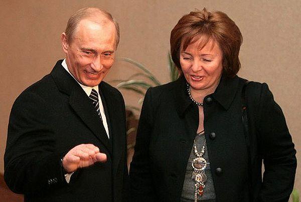 Władimir Putin z małżonką Ludmiłą