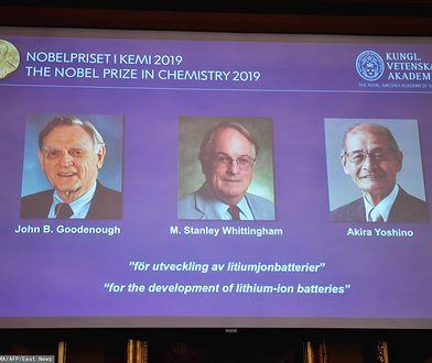 Nobel z dziedziny chemii przyznany