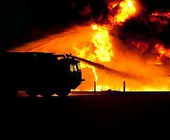 Augustów. Ogień w hotelu Amber Bay! Konieczna była ewakuacja