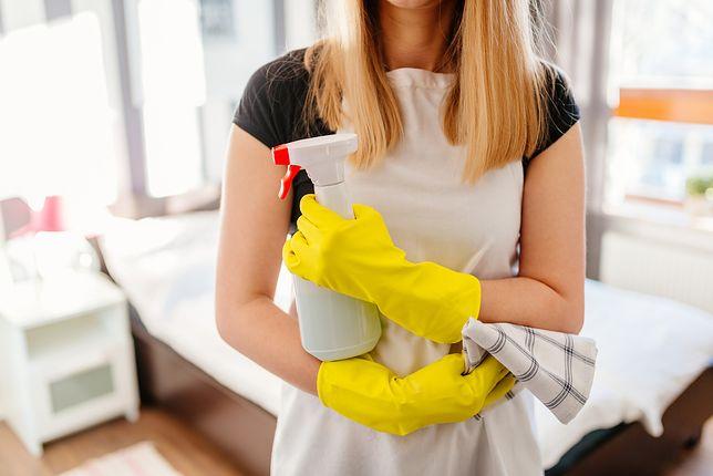 Rękawiczki, płyn i do dzieła, drogie panie...