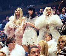 Kardashianki na Nowojorskim Tygodniu Mody