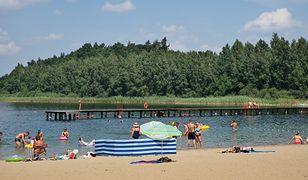 Jezioro Kamionkowskie cieszy się sporą popularnością wśród turystów w okresie wakacyjnym