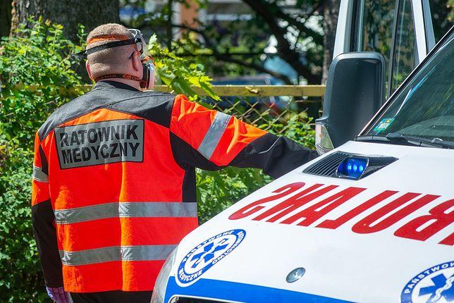 Mimo reanimacji nie udało się uratować 59-latka, który spadł z dużej wysokości na budowie w Czechowicach Dziedzicach.