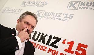 Marek Jakubiak jest wiceprzewodniczącym klubu poselskiego Kukiz'15