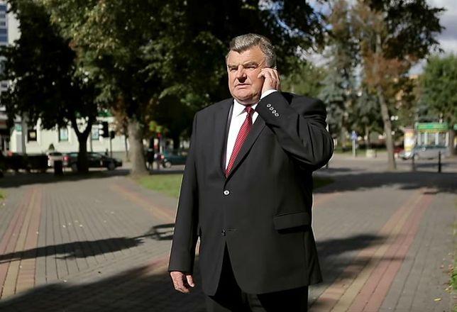 Senator PiS Tadeusz Romańczuk.