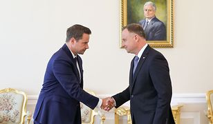 Rafał Trzaskowski spotkał się z Andrzejem Dudą. Prezydent Warszawy zaliczył wizerunkową wpadkę