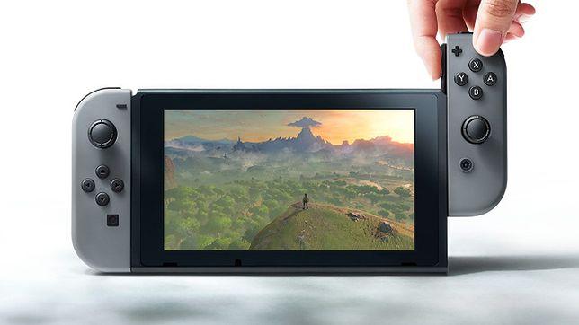 Czegoś takiego jeszcze nie było! Nintendo Switch to połączenie stacjonarnej konsoli z przenośną