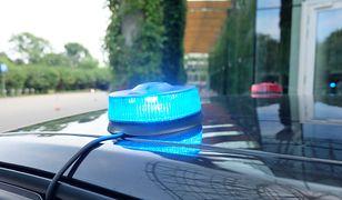 Komenda Stołeczna Policji zatrzymała kierowcę nissana