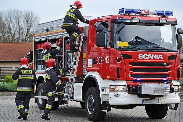 Wybuch gazu w Lęborku. Trzy osoby trafiły do szpitala