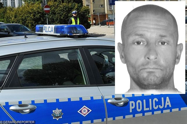 Policja z Komisariatu Policji w Ząbkach poszukuje zaginionego 43-letniego Jana Jakubiaka