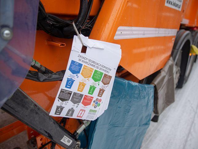 Nowe stawki za gospodarowanie odpadami obowiązują od marca w Warszawie.