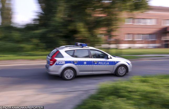 Policja zajechała drogę nastolatkowi