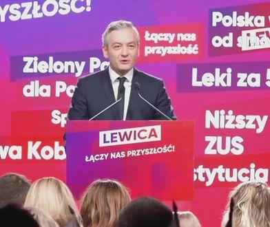Wybory parlamentarne 2019. Robert Biedroń: Let's make Poland great again