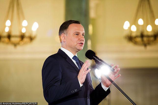 """Orędzie Andrzeja Dudy do Zgromadzenia Narodowego. """"Polska nie jest niczyją własnością"""""""