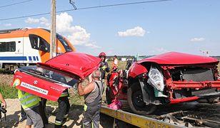 Tyle zostało z auta, w którym egzamin na prawo jazdy zdawała 18-letnia Angelika. We wtorek odbył się pogrzeb dziewczyny