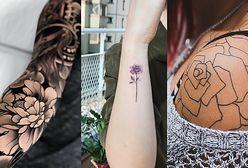 Tatuaż kwiaty dla każdego
