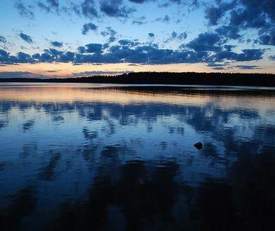 Jezioro Białe w Augustowie