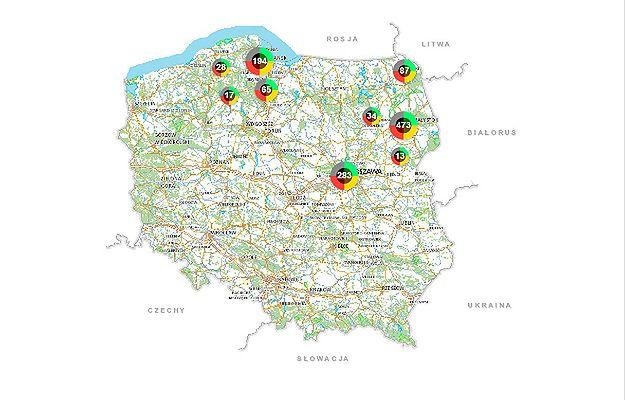 Mapa zagrożeń od września w całej Polsce. Wiceszef MSWiA Jarosław Zieliński: służy do podniesienia poziomu bezpieczeństwa