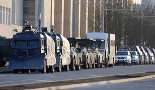 Białoruś. Liczne zatrzymania i koncentracja sił w Mińsku