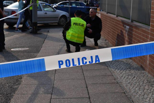 Policja zabezpiecza ślady w Szczecinie (zdjęcie ilustracyjne)