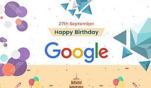 Google świętuje 21. urodziny. Z tej okazji wyjątkowy Google Doodle