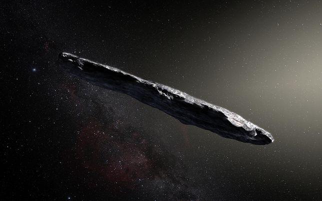 1I' Oumuamua - pierwszy obiekt międzygwiezdny