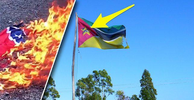 Jeden szczegół na fladze Mozambiku wciąż budzi kontrowersje