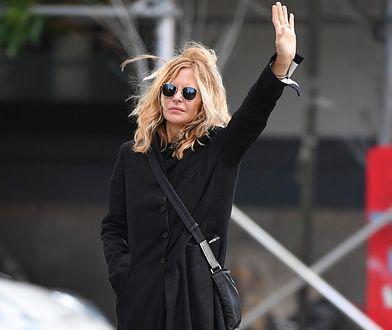 Meg Ryan na ulicy Nowego Jorku