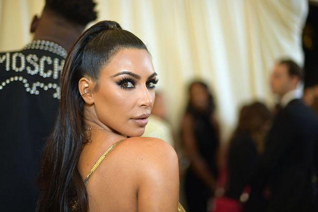 Kim Kardashian pokazała, jak wyglądała w dzieciństwie