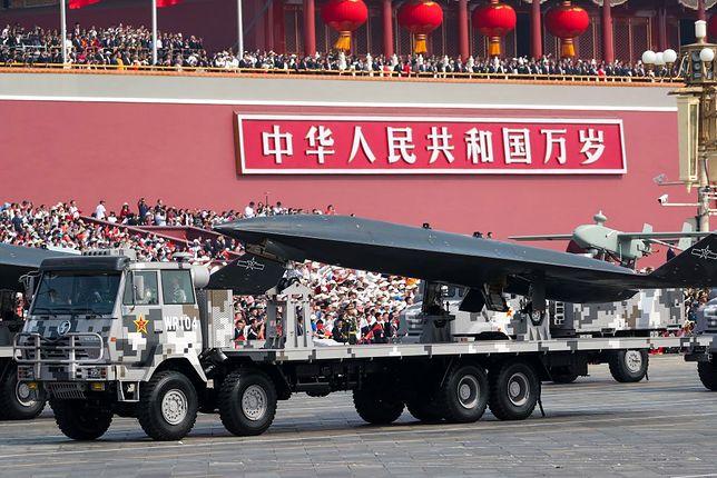 Chiński dron WZ-8 został po raz pierwszy zaprezentowany światu podczas parady z okazji 70-lecia Chińskiej Republiki Ludowej