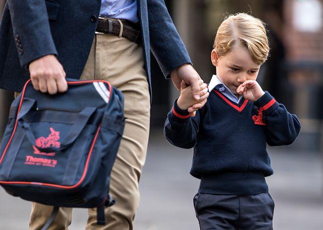 Na jaw wyszedł plan lekcji księcia George'a. Można się zdziwić