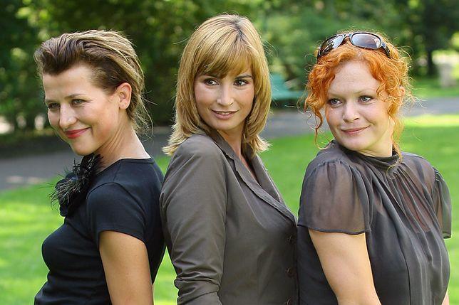 Katarzyna Herman, Joanna Brodzik i Daria Widawska