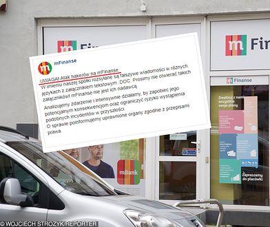 Atak hakerów na mBank, dane klientów są zagrożone