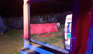 Dwie osoby zginęły w wypadku z udziałem nietrzeźwego nastolatka