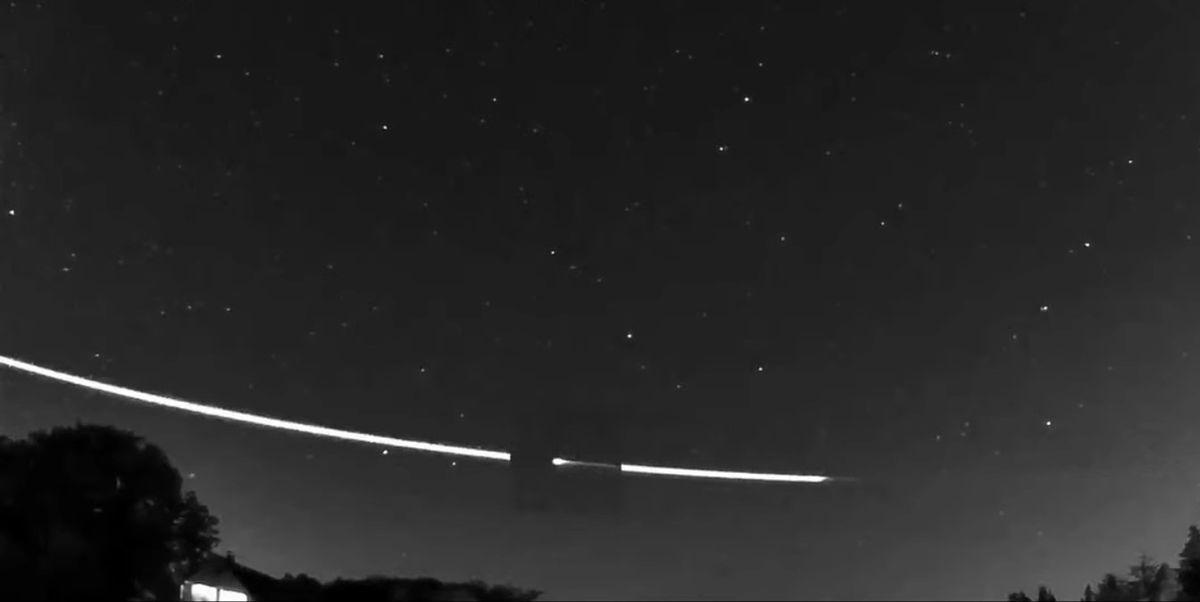 Meteoroid pojawił się na niebie nad Niemcami i Holandią