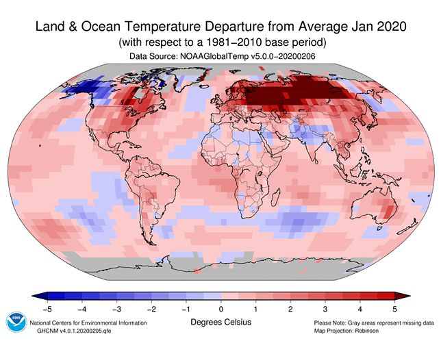 Padają kolejne rekordy temperatur