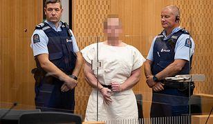 Brenton Tarrant w sądzie rejonowym w Christchurch