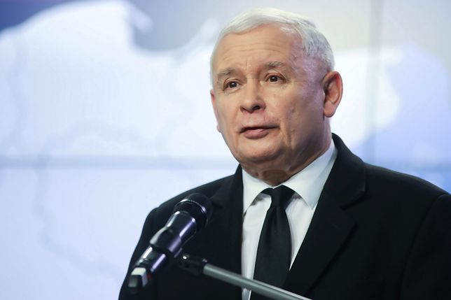 Prezes PiS Jarosław Kaczyński wygłosił oświadczenie w siedzibie PiS przy ul. Nowogrodzkiej
