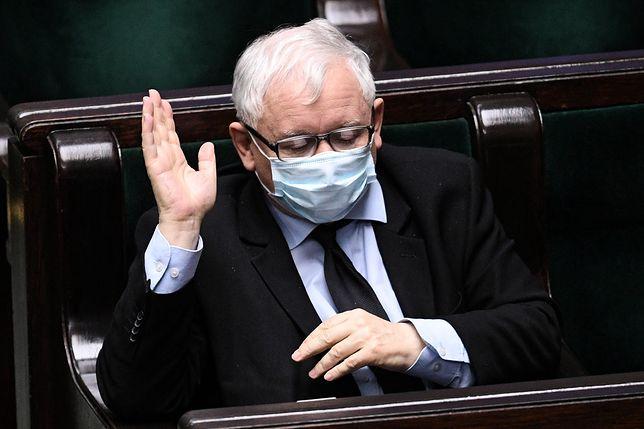 Wybory prezydenckie 2020. Jarosław Kaczyński mówi o działaniach opozycji