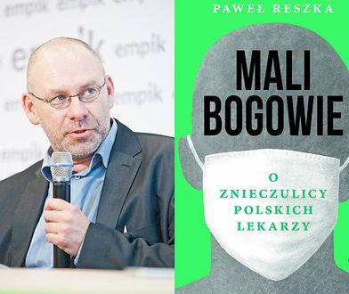 """Paweł Reszka, autor książki """"Mali bogowie"""""""